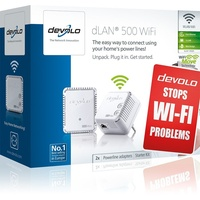 dLAN 500 WiFi Starter Kit 500Mbps (2 Adapter)