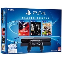 SONY PS4 500GB + DriveClub + Little Big Planet 3 + The Last of Us (Bundle) ab 419.00 € im Preisvergleich