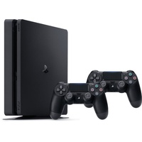 PS4 Slim 500GB + 2x DualShock 4 Wireless Controller