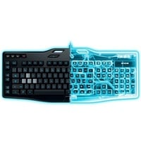G105 Gaming Keyboard DE schwarz (920-005048)