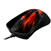 Gaming Mouse FireGlider schwarz/rot