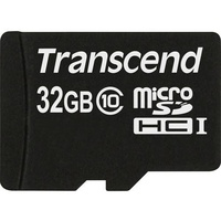 Preisvergleich: TRANSCEND microSDHC 32GB Class 10 jetzt g&uuml;nstig kaufen