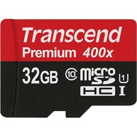 Preisvergleich: TRANSCEND microSDHC 32GB Class 10 UHS-I + Adapter jetzt g&uuml;nstig kaufen