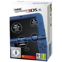 New Nintendo 3DS XL metallic blau