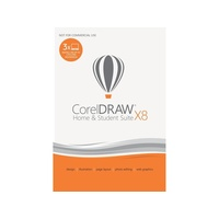 CorelDRAW Home & Student Suite X8 3 User ESD DE Win