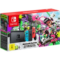 Switch neon-rot / neon-blau + Splatoon 2 (Bundle)