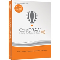 CorelDRAW Home & Student Suite X8 3 User DE Win